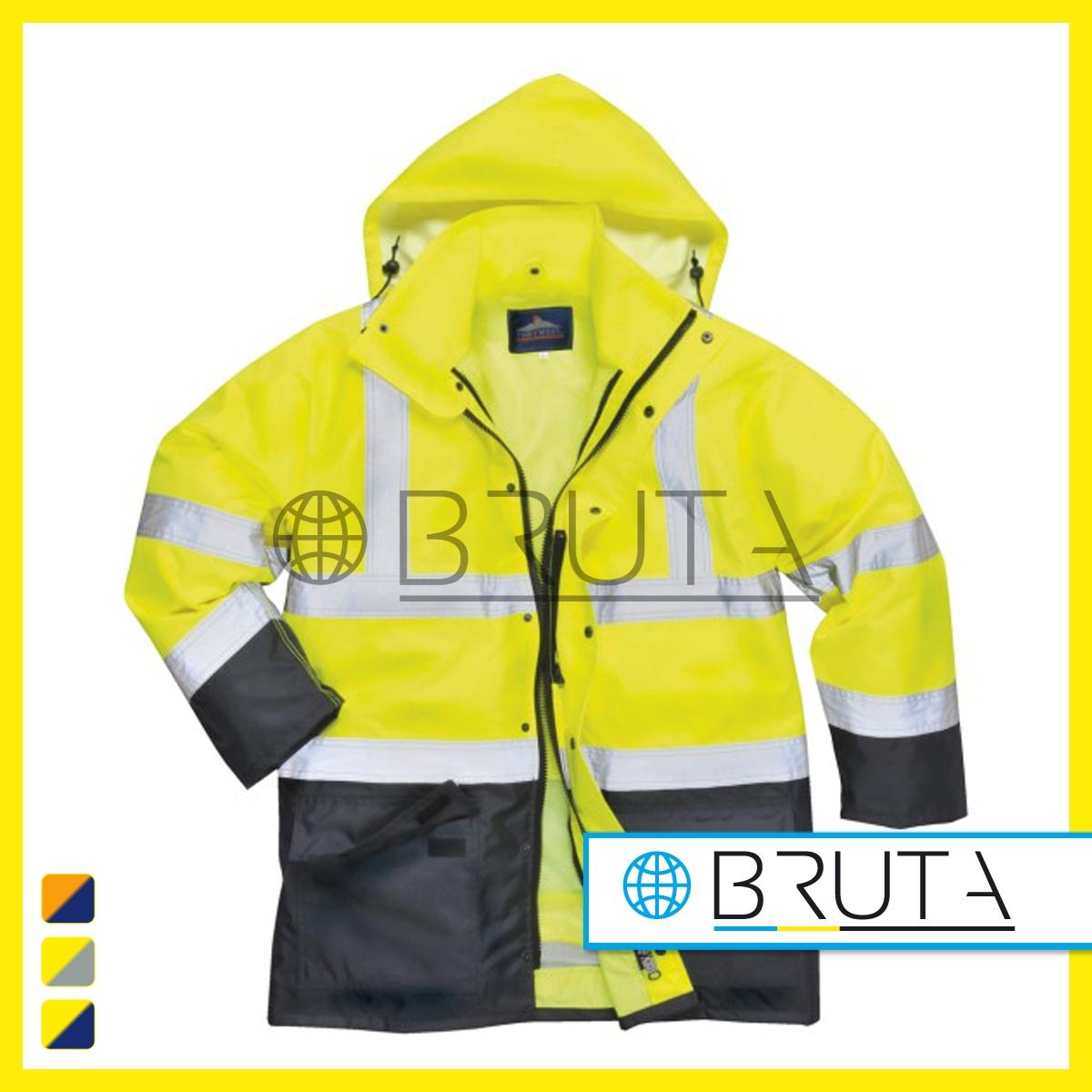 kurtka odblaskowa dla kierowcy zimowa