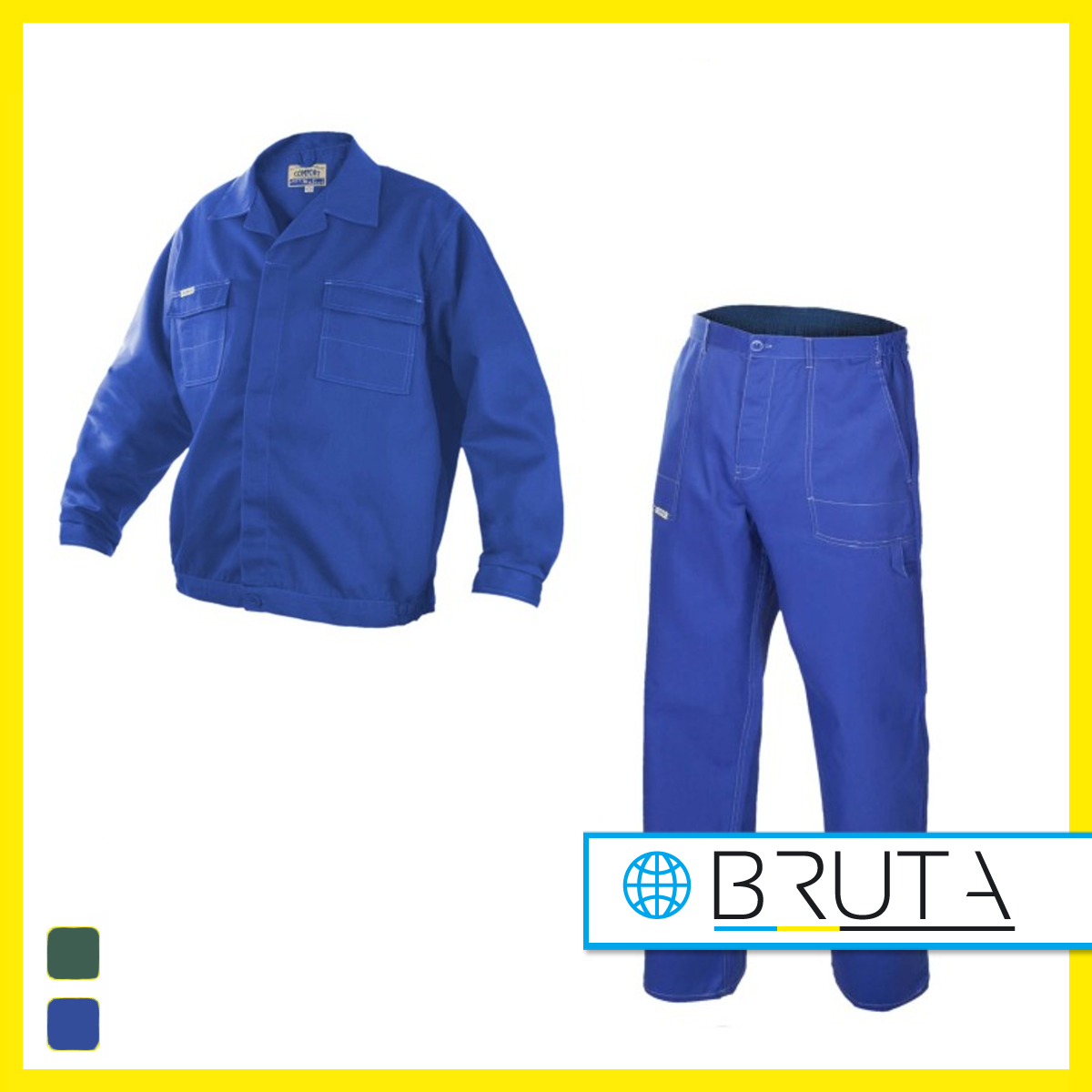 8703f24f74 Ubranie robocze COMFORT niebieskie Ubranie robocze COMFORT zielone Spodnie  ...