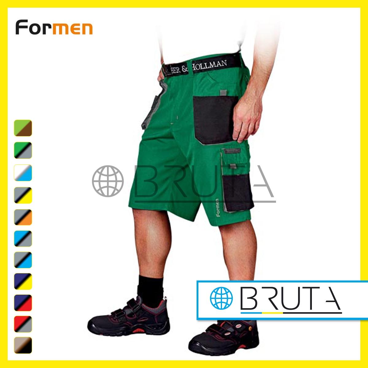 Spodnie robocze krótkie FORMEN Leber&Hollman
