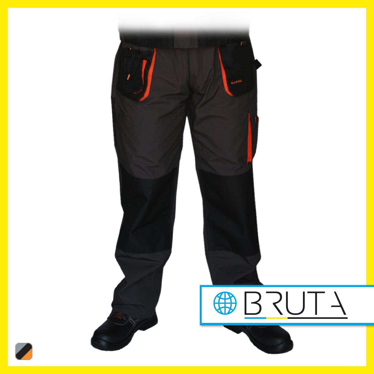 1a80d1bc9b Spodnie robocze do pasa CLASIC