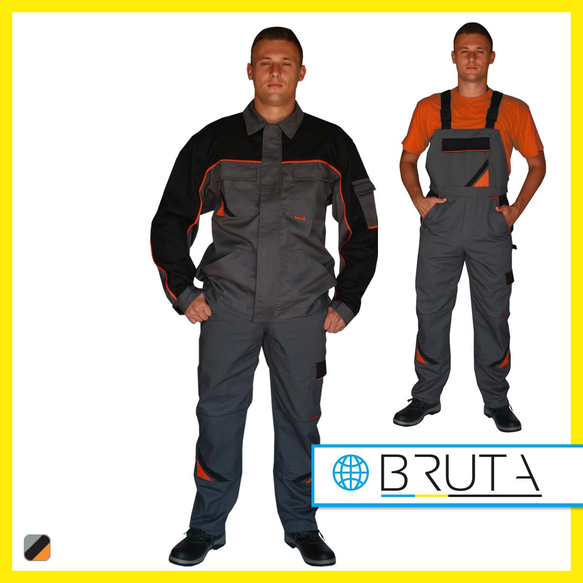 795884ab Ubranie robocze PROFESSIONAL (bluza + spodnie ogrodniczki)